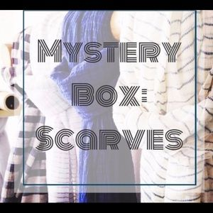 MYSTERY BOX 11 SCARVES  different style patterns